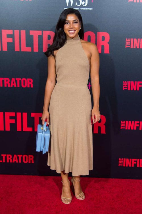 Hannah Bronfman at The Infiltrator NY premiere on July 12, 2016