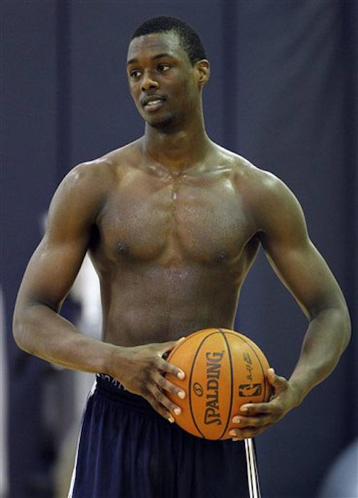 Harrison Barnes shirtless body