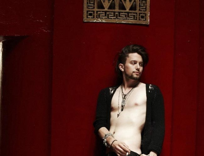 Jackson Rathbone in a photoshoot