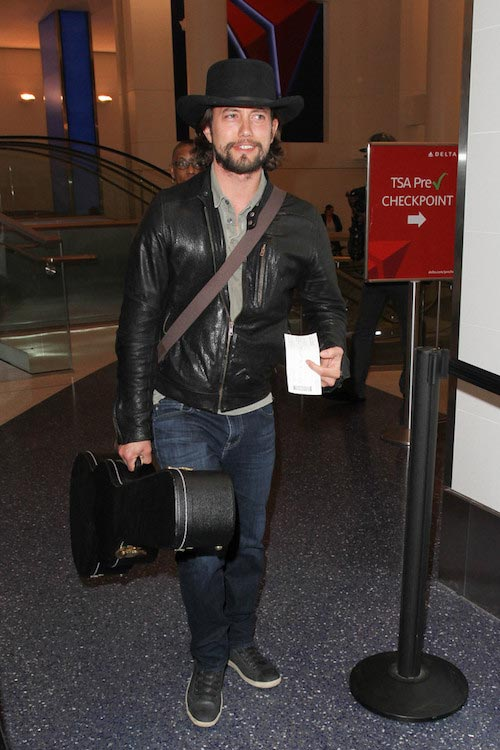 Jackson Rathbone seen departing from LAX on January 5, 2016