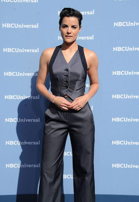 Jaimie Alexander at NBC Universal Upfront Presentation in New York in May 2016