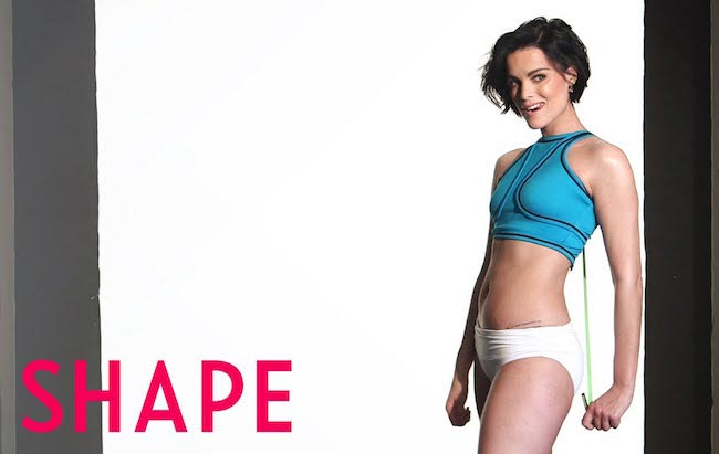 Jaimie Alexander for SHAPE March 2016
