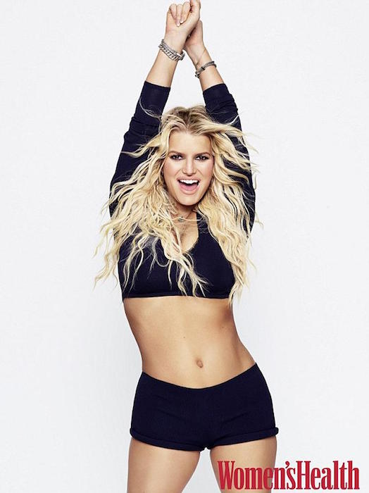 Jessica Simpson for Women's Health September 2016