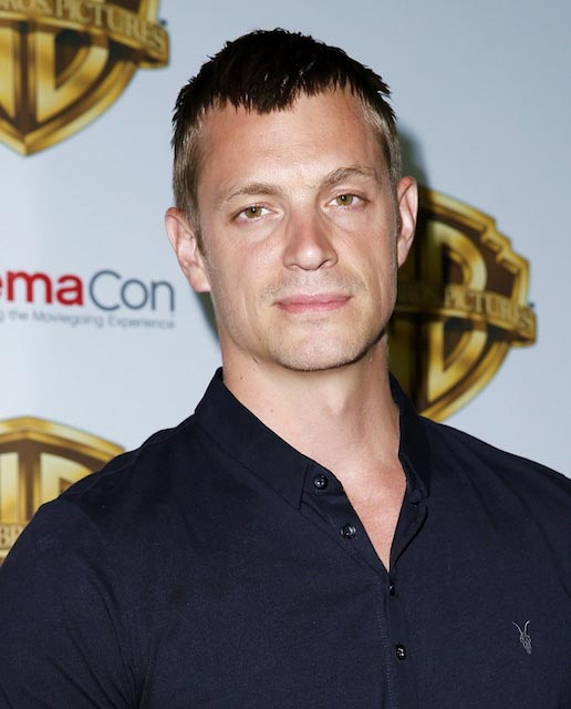 Joel Kinnaman during CinemaCon Warner Bros Pictures event in April 2016