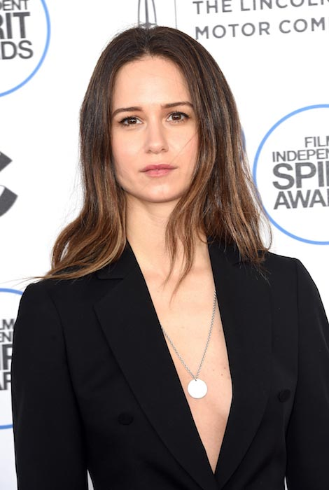 Katherine Waterston at 2015 Film Independent Spirit Awards