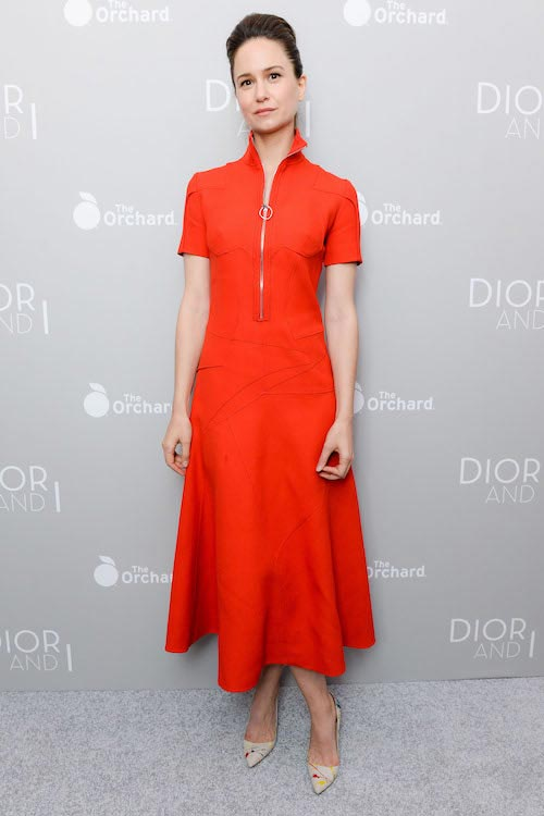Katherine Waterston at the Dior and I New York premiere
