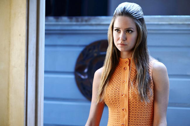 "Katherine Waterston in a still from ""Inherent Vice"""