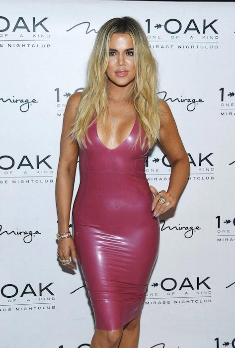 Khloe Kardashian at Scott Disick's 33rd birthday at 1 OAK in Las Vegas on May 28, 2016