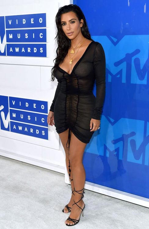 Kim Kardashian during 2016 MTV Video Music Awards