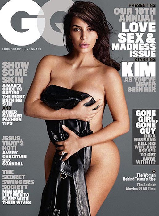Kim Kardashian West for GQ Cover in June 2016