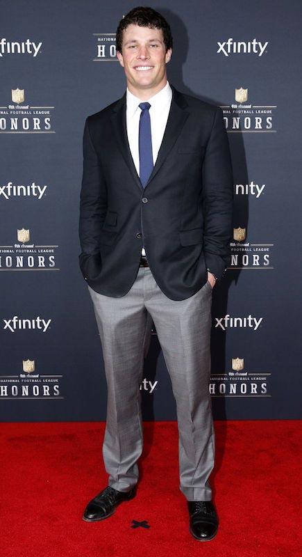 Luke Kuechly at the NFL Awards Ceremony