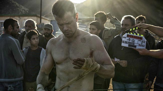 Matt Damon Jason Bourne (2016)