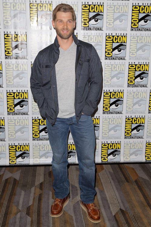 Mike Vogel during 2015 Comic-Con International event