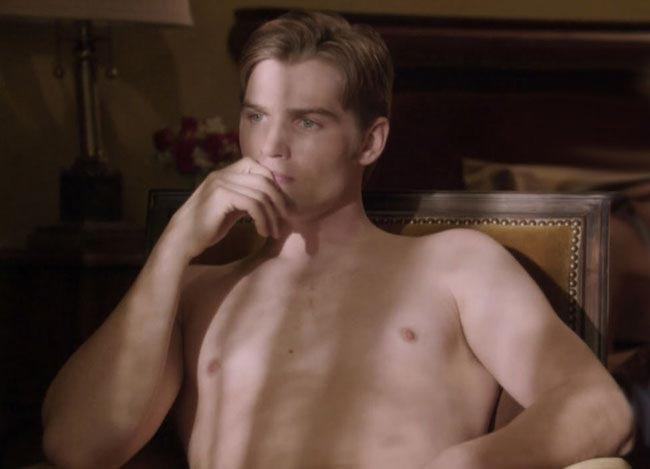 Mike Vogel Pan Am shirtless body