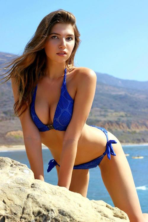 Mila Chernikova hot boobs bikini
