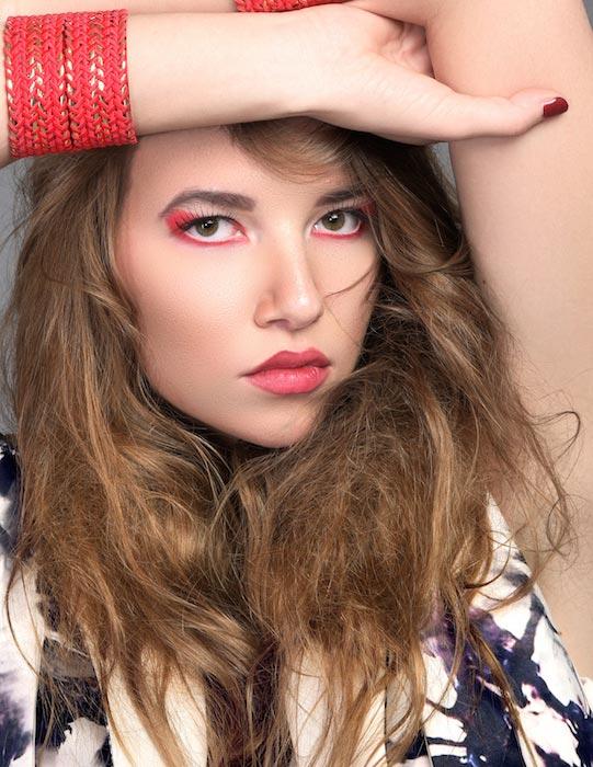 Mila Chernikova lips