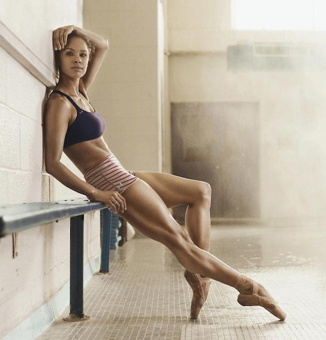 Misty Copeland slim trim body