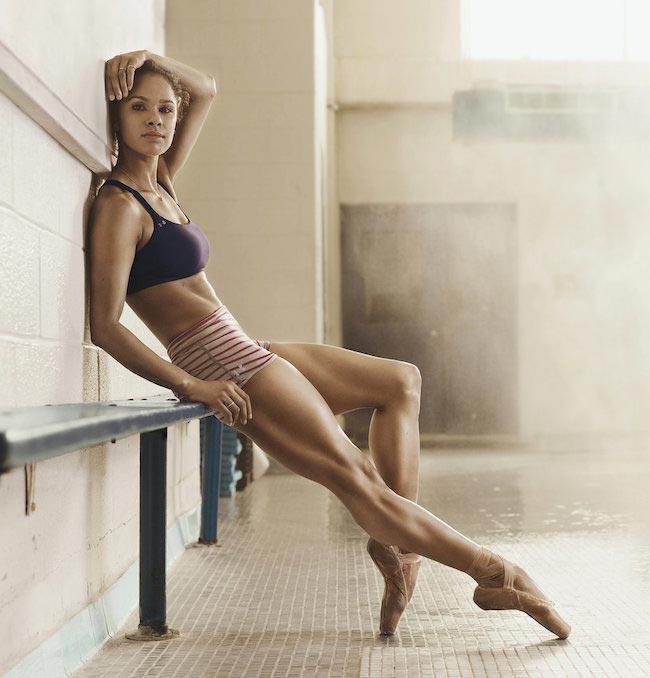 Misty Copeland slim trim body