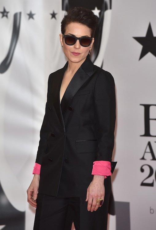 Noomi Rapace looks fit at the BRIT Awards 2016