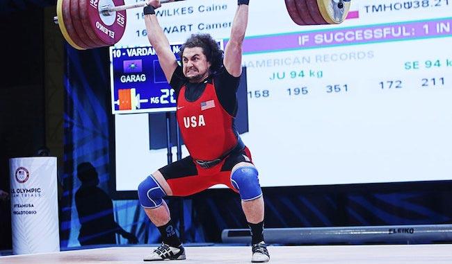 Norik Vardanian weightlifting