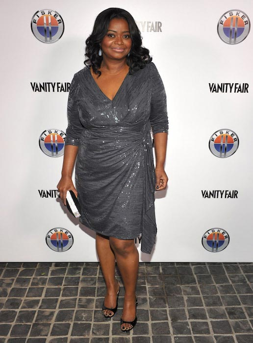Octavia Spencer Cecconi's Restaurant Golden Globes Best Drama Nominations 2012