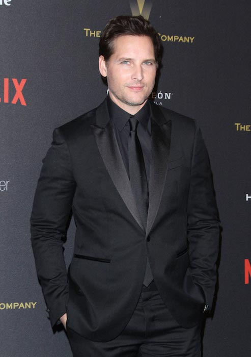 Peter Facinelli in January 2016 during Golden Globes After Party