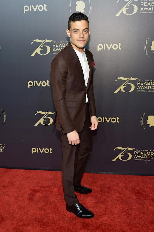 Rami Malek at the 75th Annual Peabody Awards Ceremony on May 20, 2016
