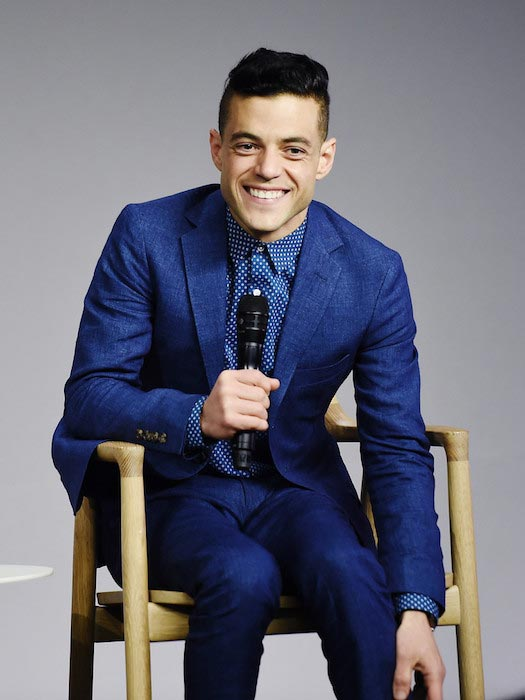 "Rami Malek during Meet the Actor series to talk about ""Mr.Robot"" on July 13, 2016"