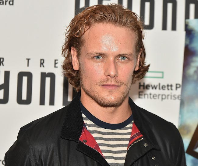"Sam Heughan at the New York Premiere of ""Star Trek Beyond"" on July 18, 2016"