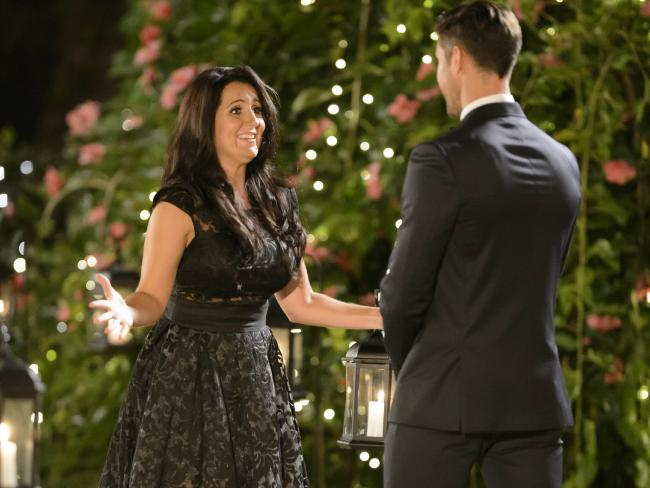 Sandra Rato at The Bachelor season 3 mansion