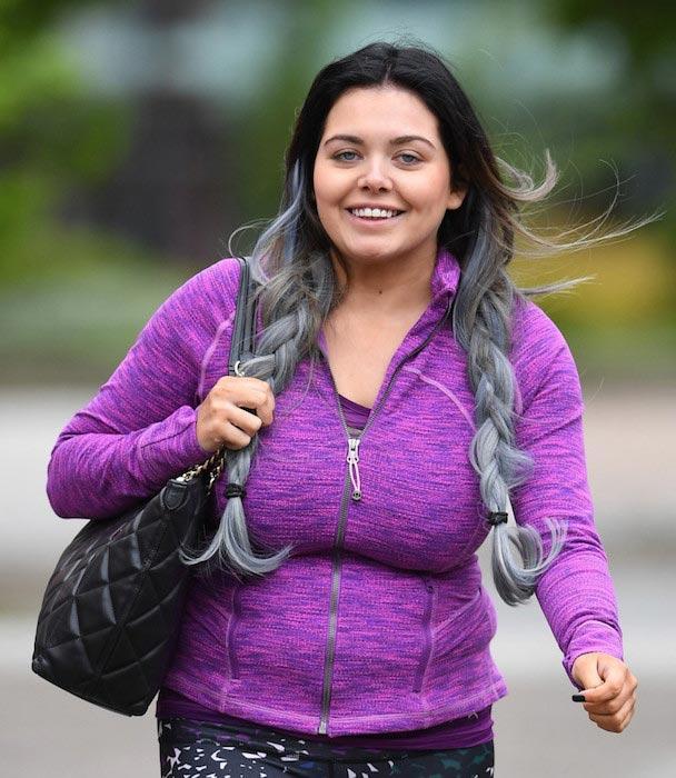 Scarlett Moffatt after hitting the gym