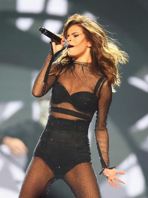 Selena Gomez during Revival Tour in Sydney in August 2016