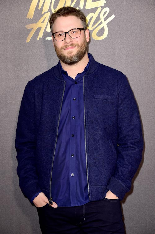 Seth Rogen at the MTV Movie Awards on April 10, 2016