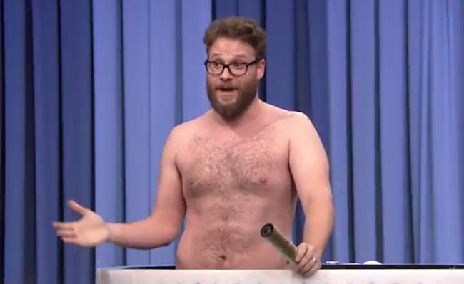 Seth Rogen shirtless body