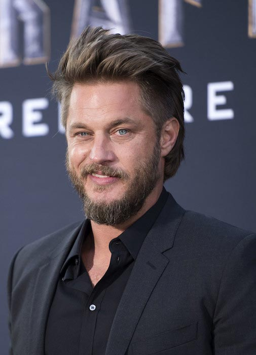 "Travis Fimmel during the premiere of ""Warcraft"" on June 6, 2016 in Hollywood"