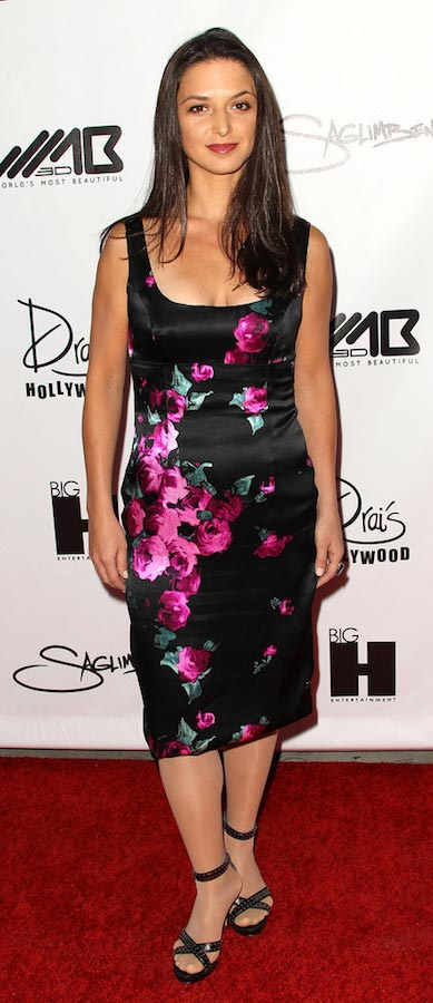 Andrea Gabriel at the World's Most Beautiful Magazine Event on August 10, 2011