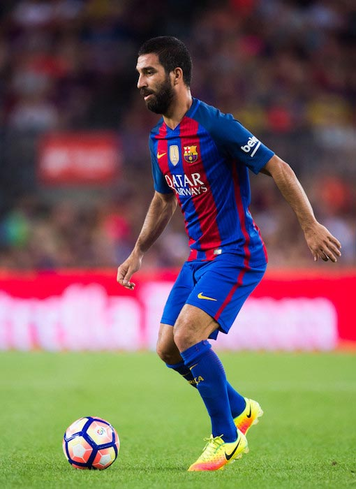 Arda Turan FC Barcelona and UC Sampdoria August 2016
