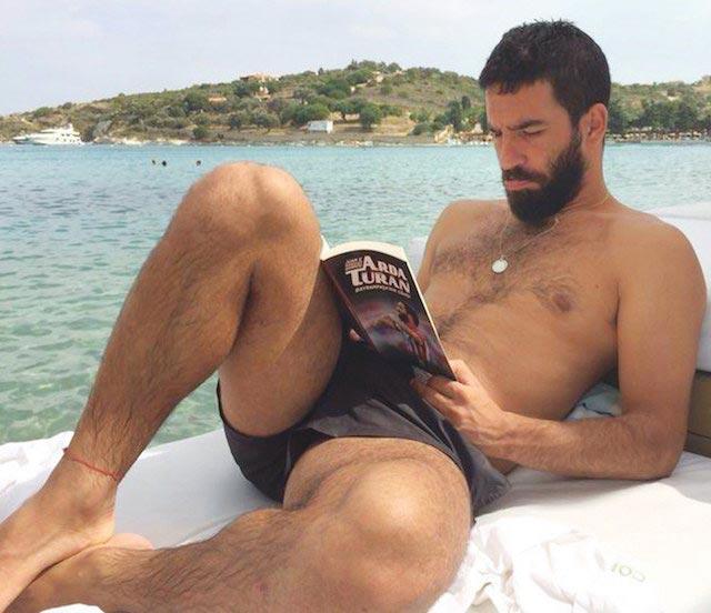 Arda Turan shirtless body