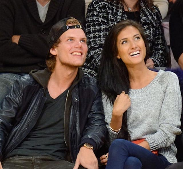 Avicii and Racquel Natasha Bettencourt
