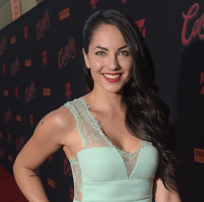 "Barbara Mori at the ""Cantinflas"" premiere in Hollywood, California on August 27, 2014"