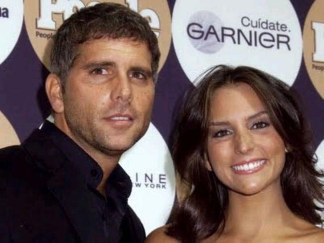 Christian Meier and Genesis Rodriguez