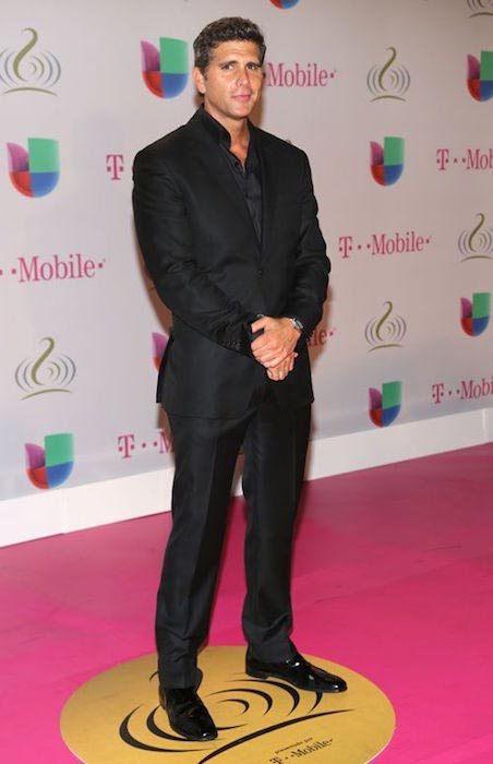 Christian Meier during the Premios Lo Nuestro in Miami, U.S. in 2014