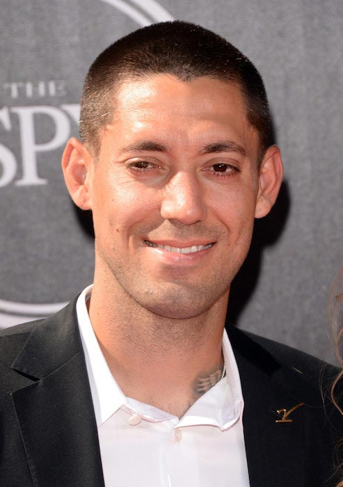 Clint Dempsey at the 2014 ESPYS in Los Angeles