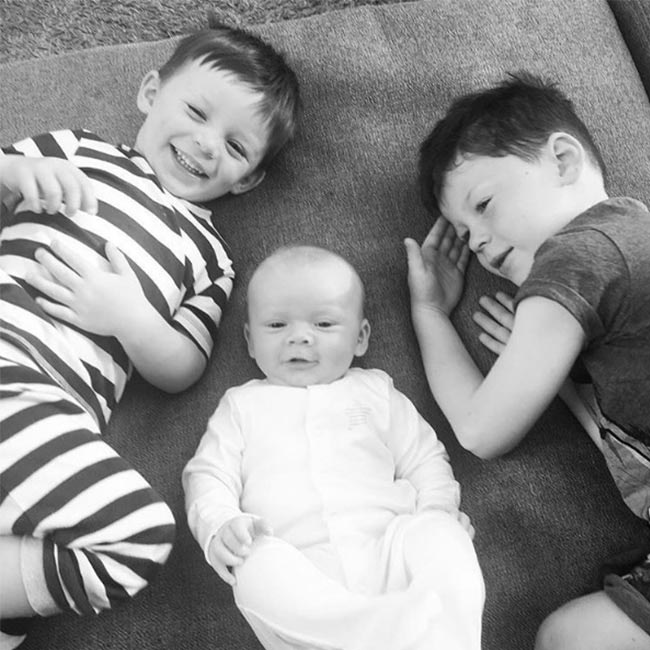 Coleen Rooney shows off children with cute Instagram photo