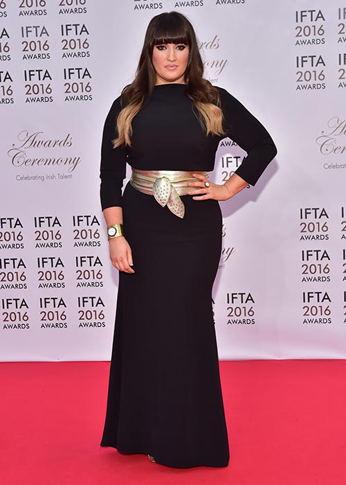 Elaine Crowley at IFTA in April 2016