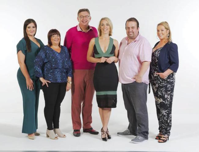 Elaine Crowley with Celebrity Operation Transformation participants