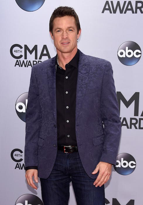 Eric Close at the CMA Awards in Nashville in November 2014