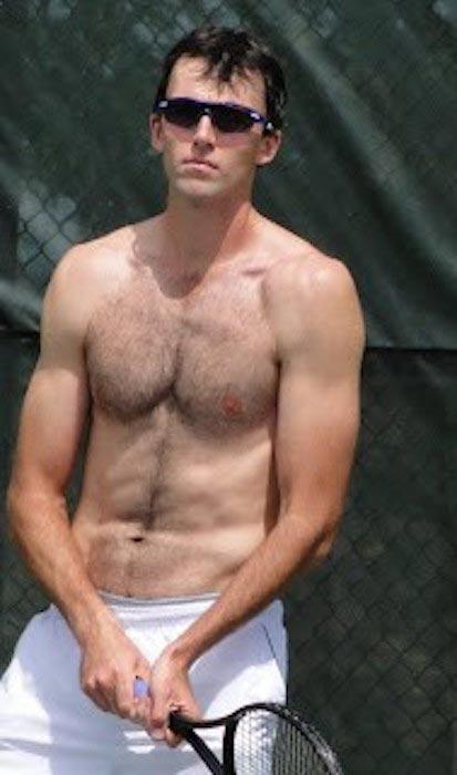 Ivo Karlović shirtless body