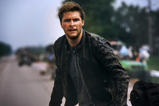 "Jack Reynor in a still from the ""Transformers: Age of Extinction"" in 2014"