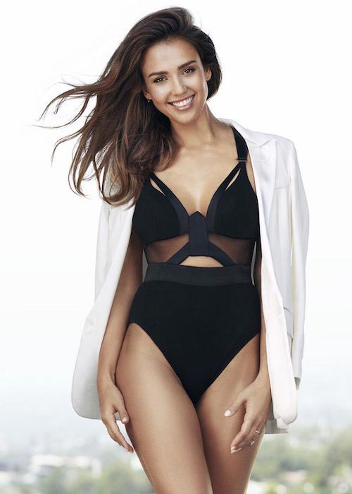 Jessica Alba for the October 2016 issue of Shape Magazine